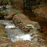 Passe à poisson au Moulin de Troubat sur la Corrèze
