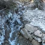 Ruisseau de Gussange en hiver