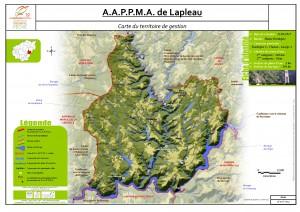 Carte territoire AAPPMA_Lapleau