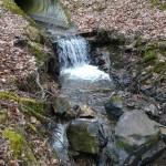 Cours d'eau du Chadon avant aménagement