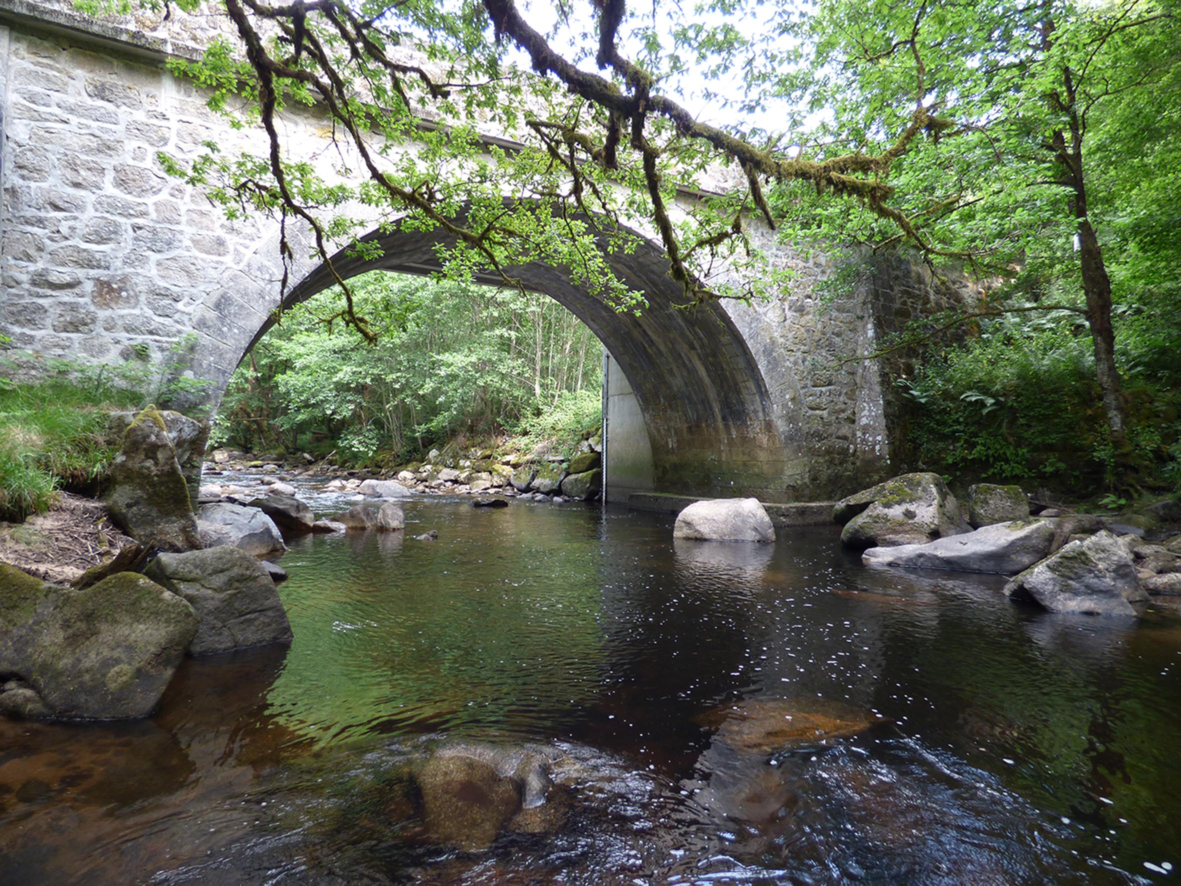 Corrèze pontr de Neupont (1)Site