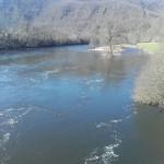 La Dordogne à Moncaeux