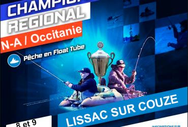 Championnat régionale float tube sur le lac du Causse