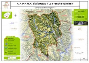 Carte territoire AAPPMA_Albussac
