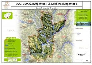 Carte territoire AAPPMA_Argentat