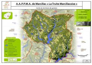 Carte territoire AAPPMA_Marcillac