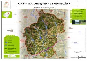 Carte territoire AAPPMA_Meymac