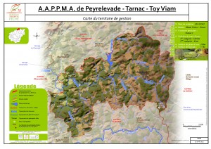 Carte territoire AAPPMA_Peyrelevade