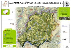 Carte territoire AAPPMA_St Privat