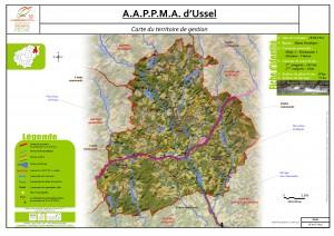 Carte territoire AAPPMA_Ussel