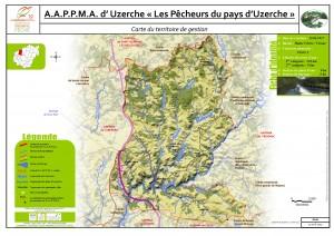 Carte territoire AAPPMA_Uzerche