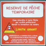 Réserve de pêche temporaire